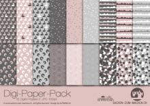 "Digi-Papers ""Bunny1 - dusky pink"""