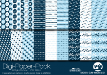 "Digi-Papers ""sweet navy"""