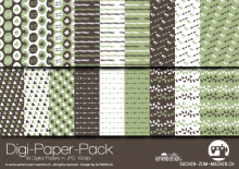 "Digi-Papers ""sweet green"""