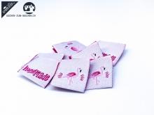 "20 St. Label ""Flamingo"" - rosa"