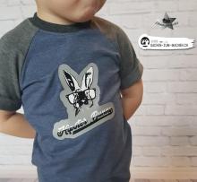"Plotter-Datei ""hipster bunny"""