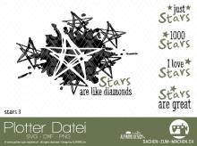 """Plotter-Datei """"stars"""" #3"""