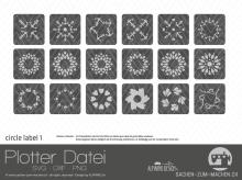 "Plotter-Datei ""circle label"" #1"