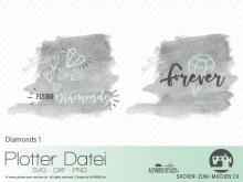 """Plotter-Datei """"Diamonds #1"""""""