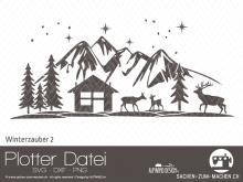 "Plotter-Datei ""Winterzauber"" #2"