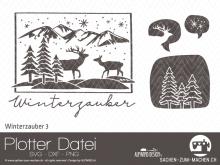 "Plotter-Datei ""Winterzauber"" #3"