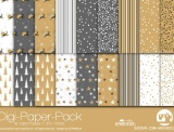 "Digi-Papers ""Christmas gold"""