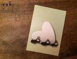 """Postkarte """"Ameise mit Herz"""""""