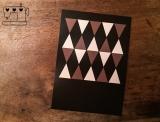 "Postkarte ""Dreiecke"""