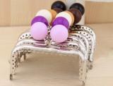Rohling für Portemonnaie 8.5cm - Perle violett