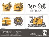 "Plotter-Datei ""Surf Season"" (3er-Set)"