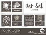 "Plotter-Datei ""Labyrinth"" (3er-Set)"