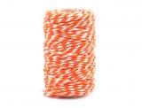 22m Baumwoll-Bindfaden (orange)