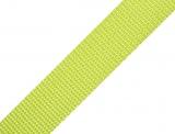 Gurtband 25mm - lime