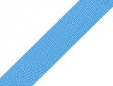 Gurtband 25mm - hellblau