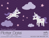 "Plotter-Datei ""unicorn wonderland"""