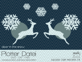 "Plotter-Datei ""deer-in-the-snow"""
