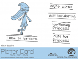 "Plotter-Datei ""winter doodle"" No1"