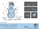 "Plotter-Datei ""winter doodle"" No2"