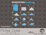 "Plotter-Datei ""Papierschiffchen #3"""