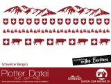 """Plotter-Datei """"Schweizer Berge #3"""""""