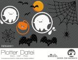 """Plotter-Datei """"Halloween #1"""""""