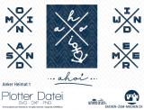 """Plotter-Datei """"Anker-Heimat #1"""""""