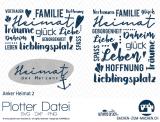 """Plotter-Datei """"Anker-Heimat #2"""""""