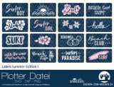 "Plotter-Datei ""Labels Summer-Edition #1"""