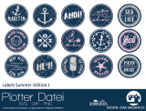 "Plotter-Datei ""Labels Summer-Edition #2"""