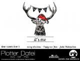 """Plotter-Datei """"deer sweet deer"""" No3"""