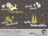 "Plotter-Datei ""Adventskalender-Sterne #2"""