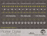"Plotter-Datei ""Adventskalender-Sterne #3"""