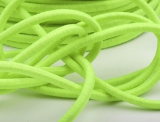 Gummikordel rund Ø3mm / hellgrün