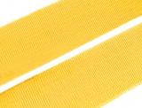 Gummiband 20mm - gelb