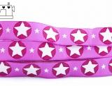 "Webband ""stars - pink"""