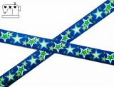 "Webband ZNOK ""Sterne blau"" 20mm"