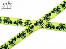 "Webband ZNOK ""Traktor grün"" 20mm"